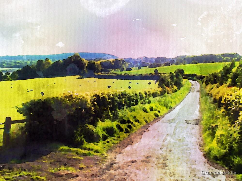 Scottish Country Lane by GraemeHeddle