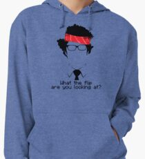 What The Flip Are You Looking At? Lightweight Hoodie