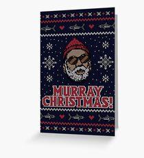 Murray Weihnachten Grußkarte