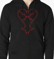 Kingdom Hearts: Keyblades to my Heartless hoodie T-Shirt