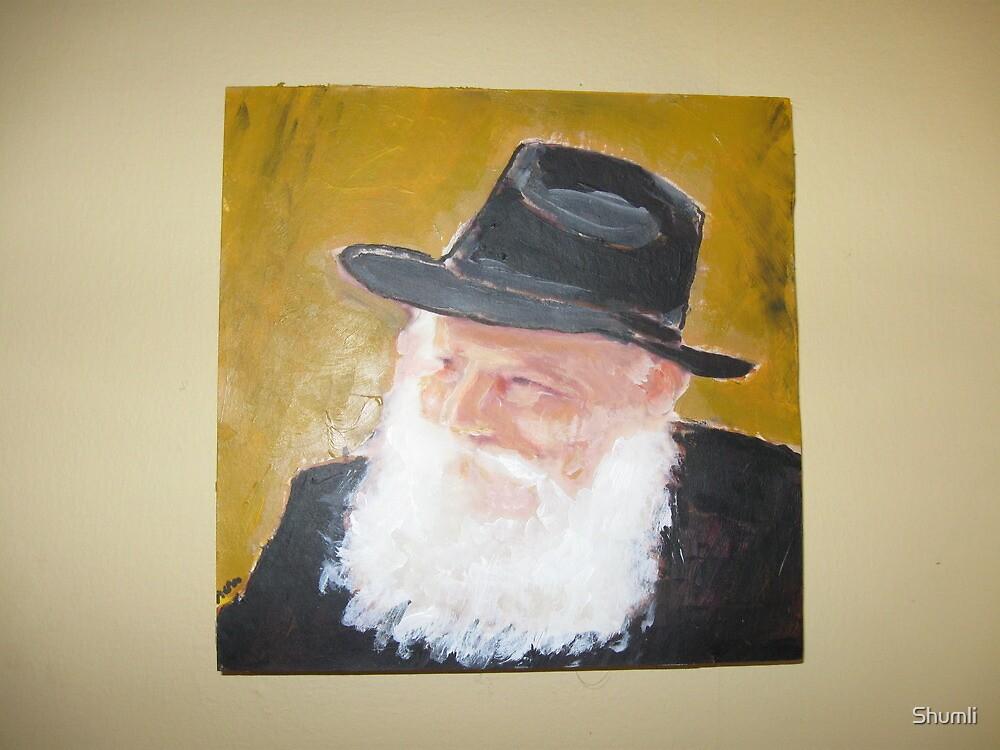 The Rebbe by Shumli