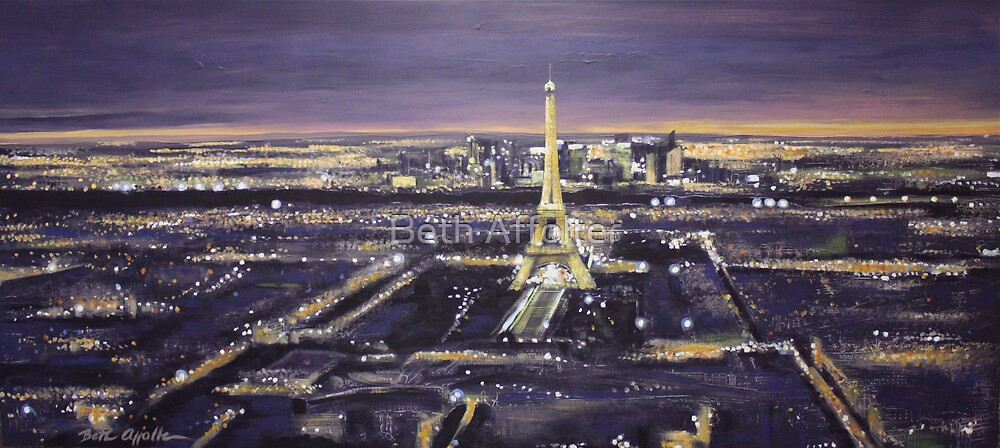 Paris Nights by Beth Affolter