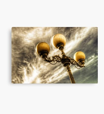 Lights!  Camera!  Action! Canvas Print