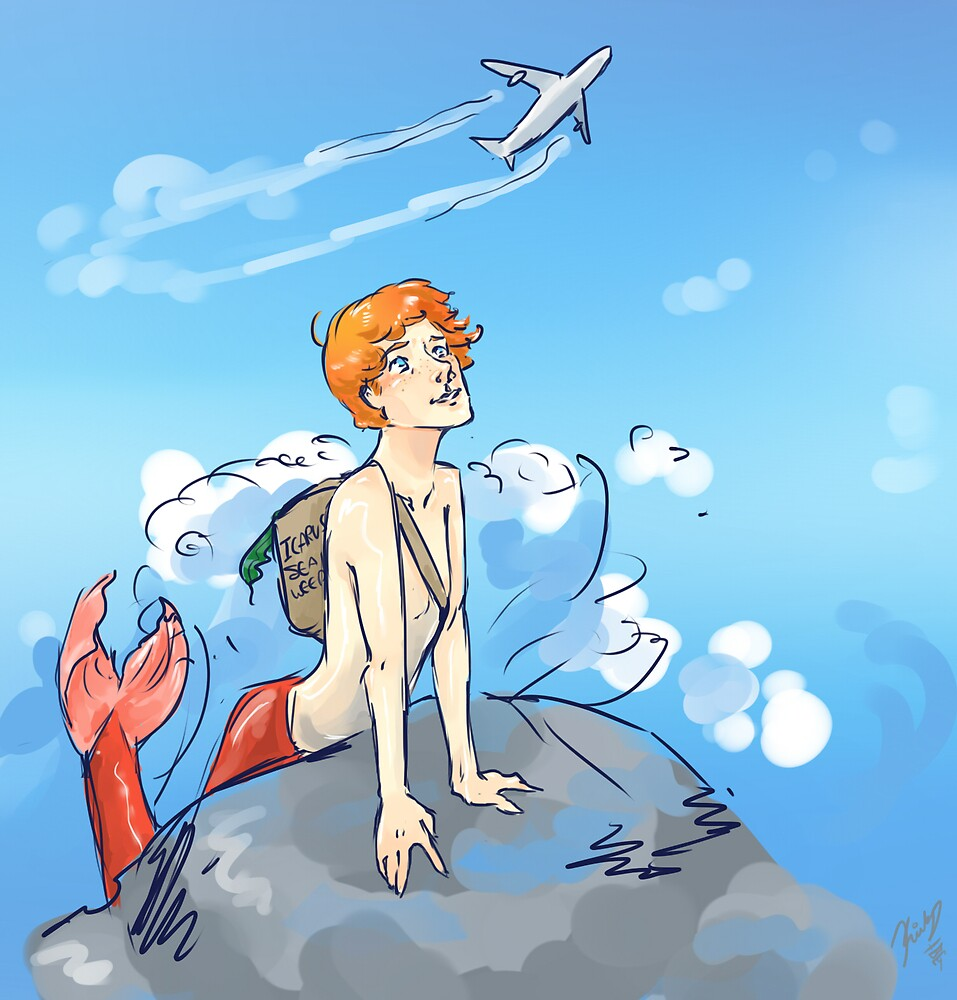 Martin Crieff, Majestic Merman by Kirby Burt
