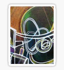 Ventilator abstract (detail) Sticker