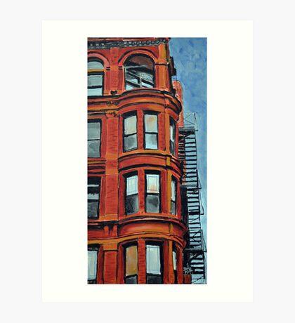 Detroit Loft Art Print