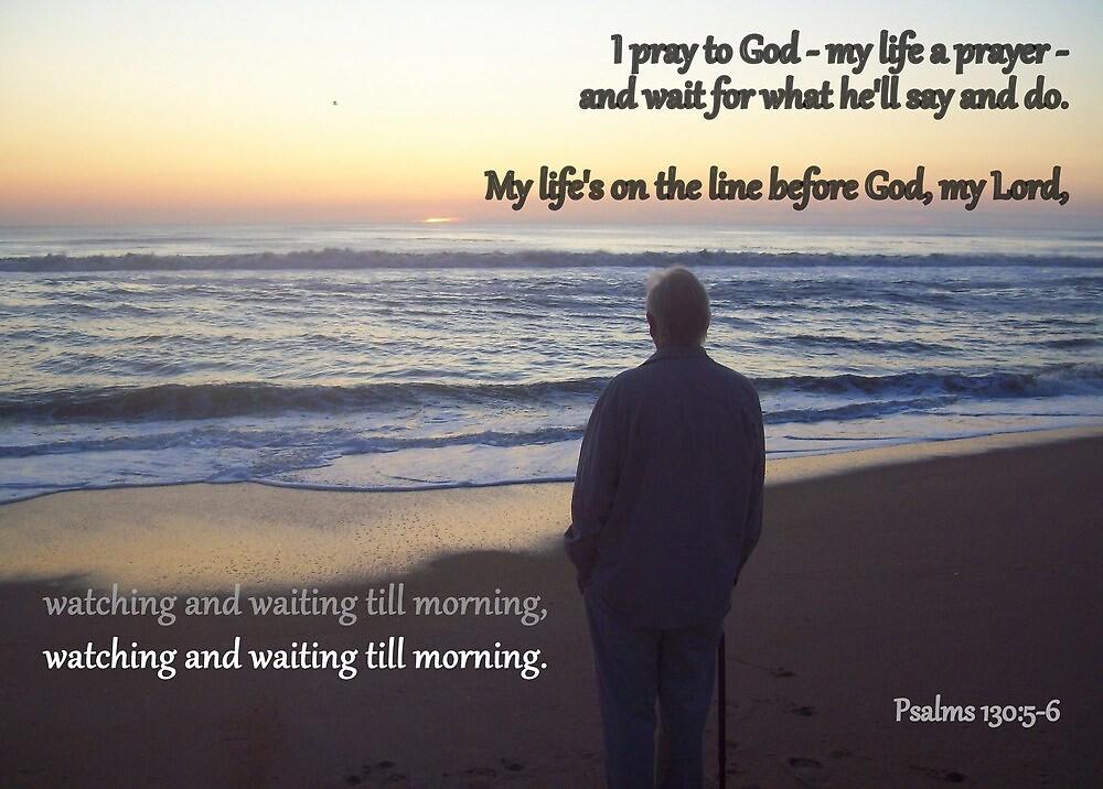 Watching and Waiting Till Morning by Paula Tohline  Calhoun