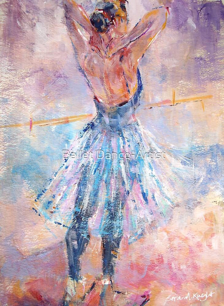 Ballet Practice - Ballet & Dance Art Gallery by Ballet Dance-Artist