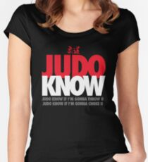 Judo Know Women's Fitted Scoop T-Shirt