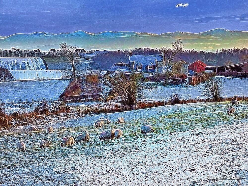 Winter Farm by GraemeHeddle