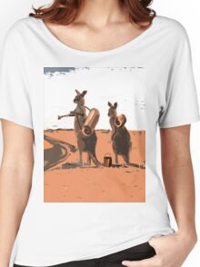 AUSSIE BACKPACKERS Women's Relaxed Fit T-Shirt