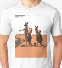 AUSSIE BACKPACKERS Unisex T-Shirt