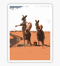 AUSSIE BACKPACKERS Sticker