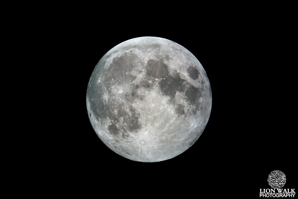 Beautiful Full Moon by Jalil al-Hamza