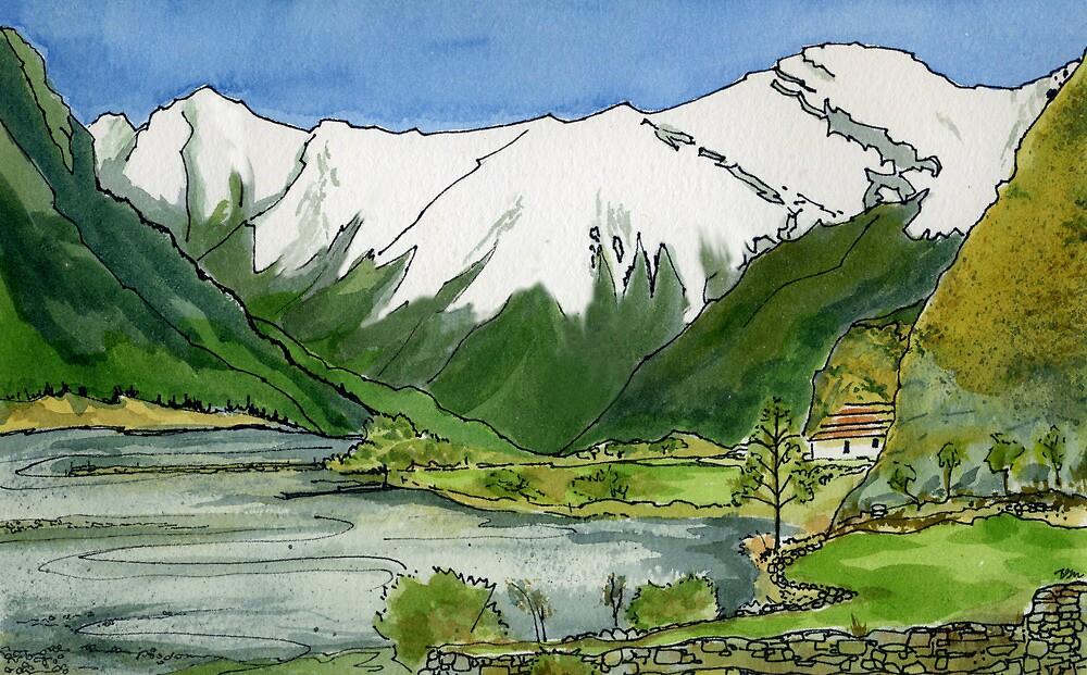 Kali Gandaki Valley by Barbara Nye