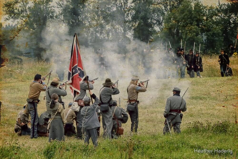 Civil War Reenactment 3 by Heather Haderly
