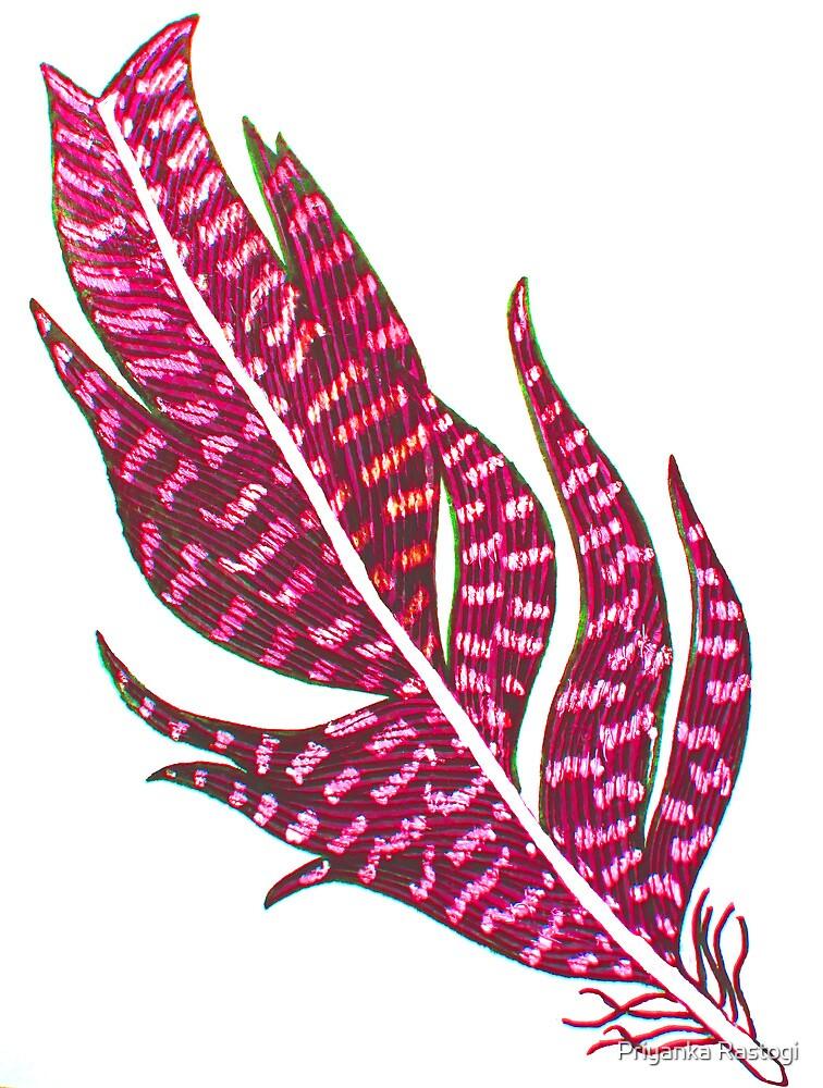 Grace Feather 2 by Priyanka Rastogi