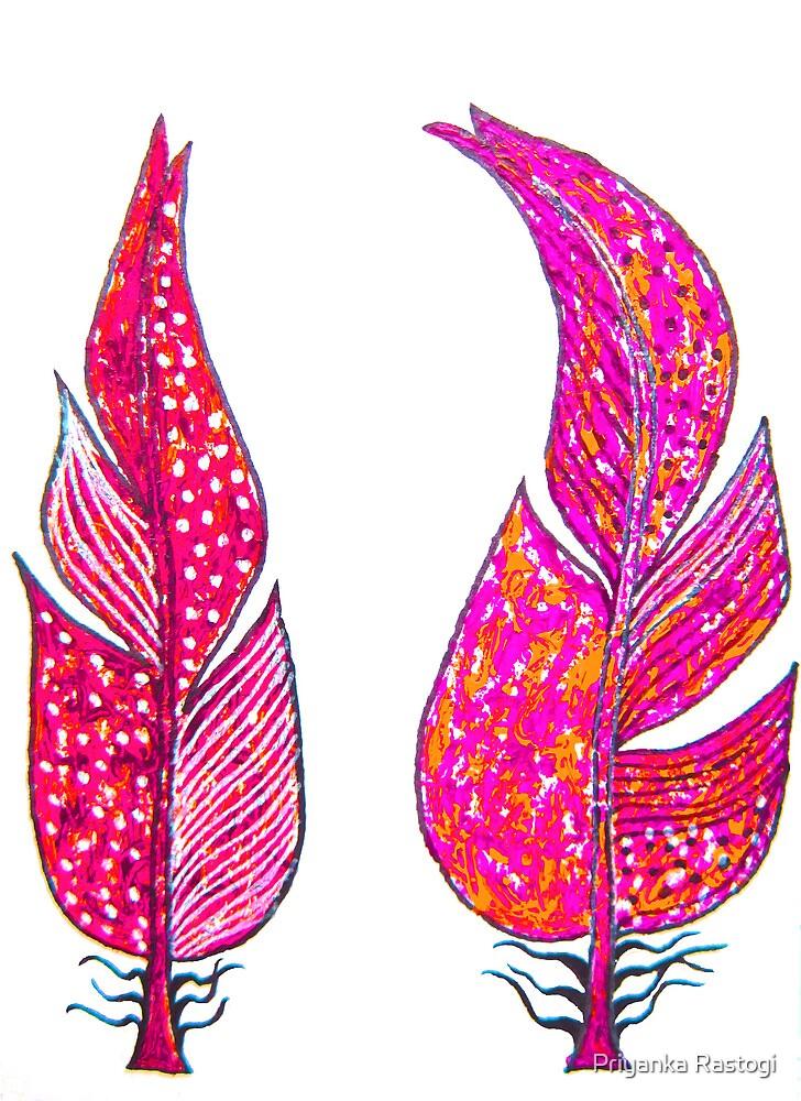 Friendship feather 3 by Priyanka Rastogi