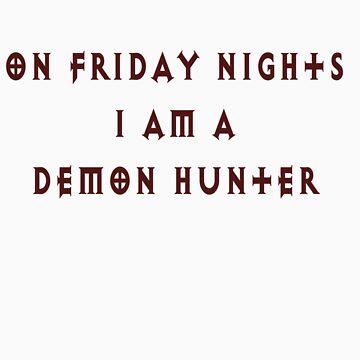 Class shirt- Demon Hunter by Snowfox