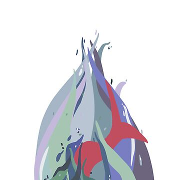 Water Mermaid Case by awkwardunclekim