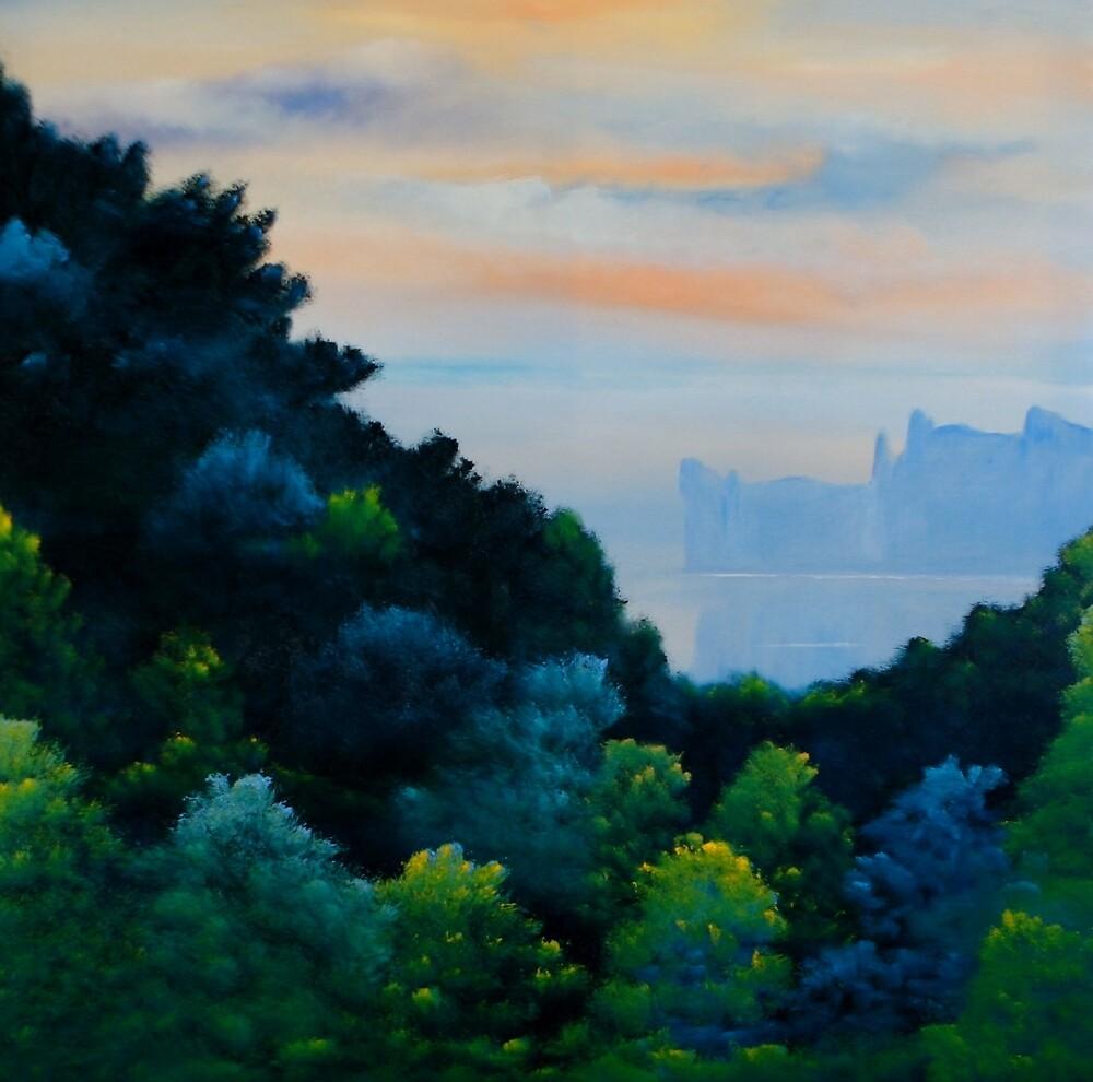 Coastal Sunset by David Snider