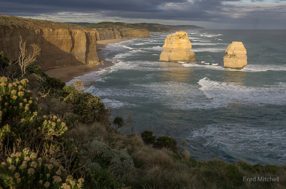 To east of The 12 Apostles 20130606 5244  by Fred Mitchell
