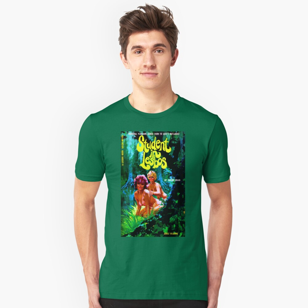"""""""Student In Lesbos"""" Slim Fit T-Shirt"""