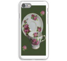 .இڿڰۣ-ڰۣ—ROSE CUP AND SAUCER IPHONE CASE.இڿڰۣ-ڰۣ— iPhone Case/Skin