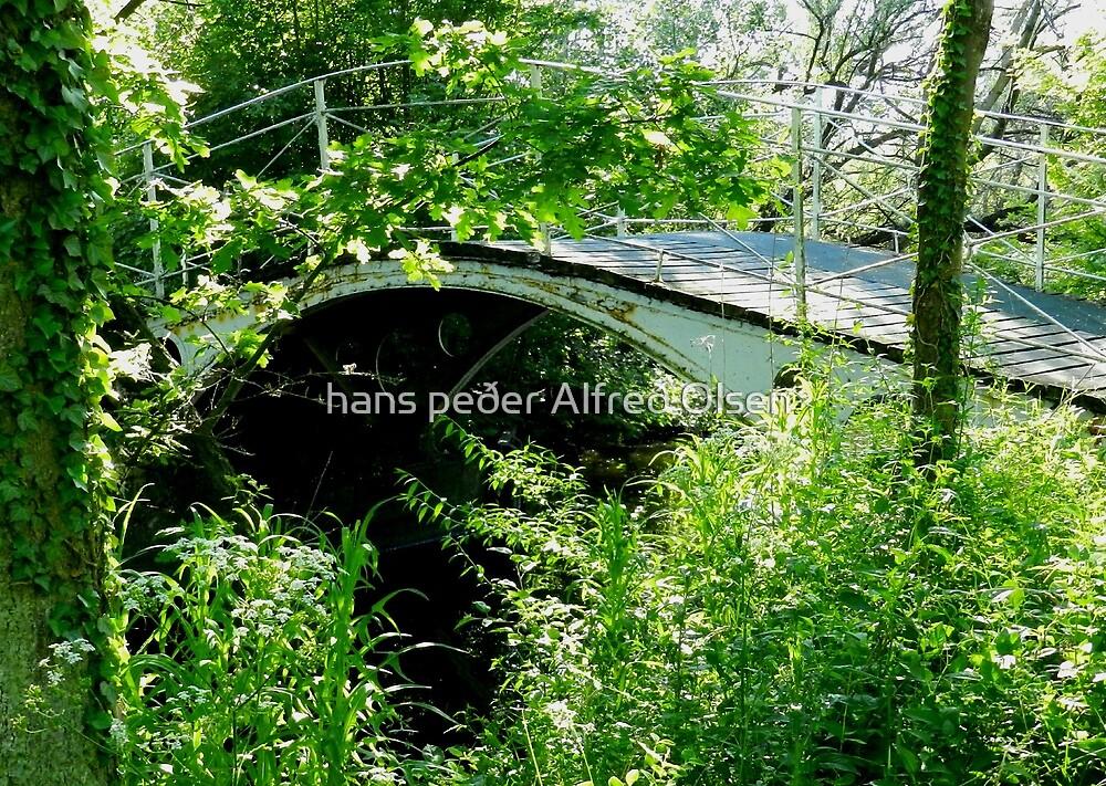Vanishing Bridge by hans peðer alfreð olsen