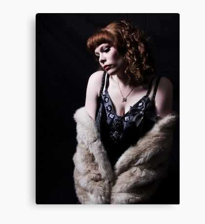 Derby Dollface  Canvas Print