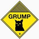 Grumpy Cat Warning by W4rnings