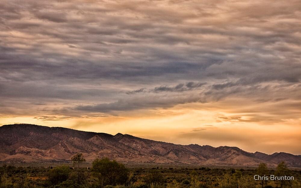 Flinders sunset by Chris Brunton