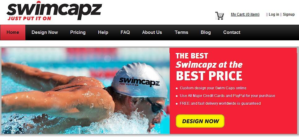 Swimcapz - Custom Swim Caps Online Store by swimcapz2