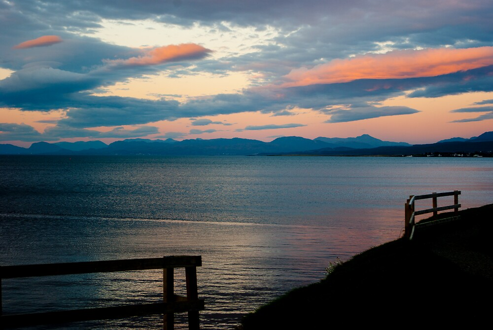 Skye Sunset by Kevin Cartwright