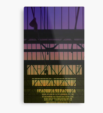 Sunset through the rafters Metal Print
