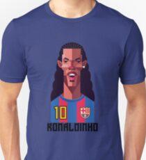 Ronaldinho Football Soccer Barcellona Barcelona calcio  Unisex T-Shirt