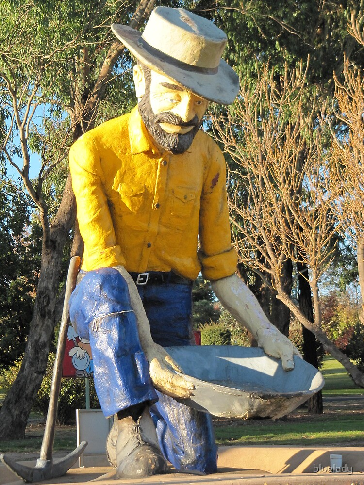 Bathurst panning for Gold by bluelady