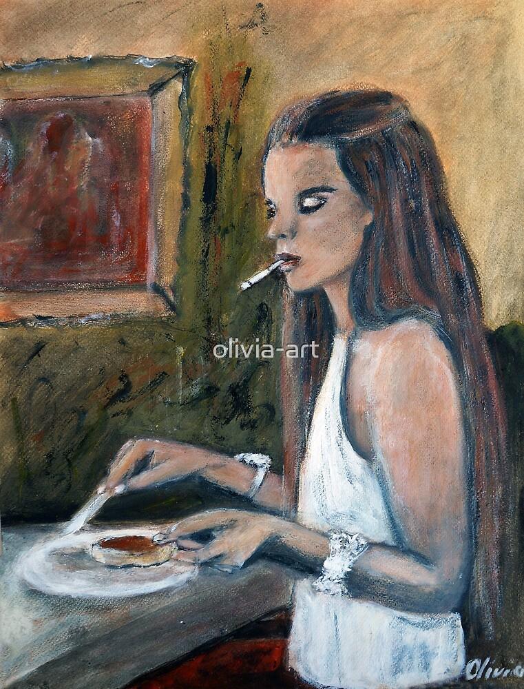Late Breakfast by olivia-art