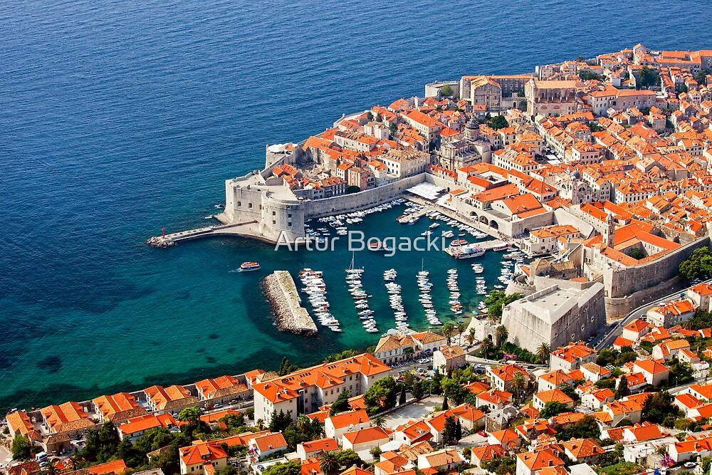 Dubrovnik Old Town on the Adriatic Sea by Artur Bogacki