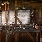 Steampunk - Machinist - My tinkering workshop  by Michael Savad