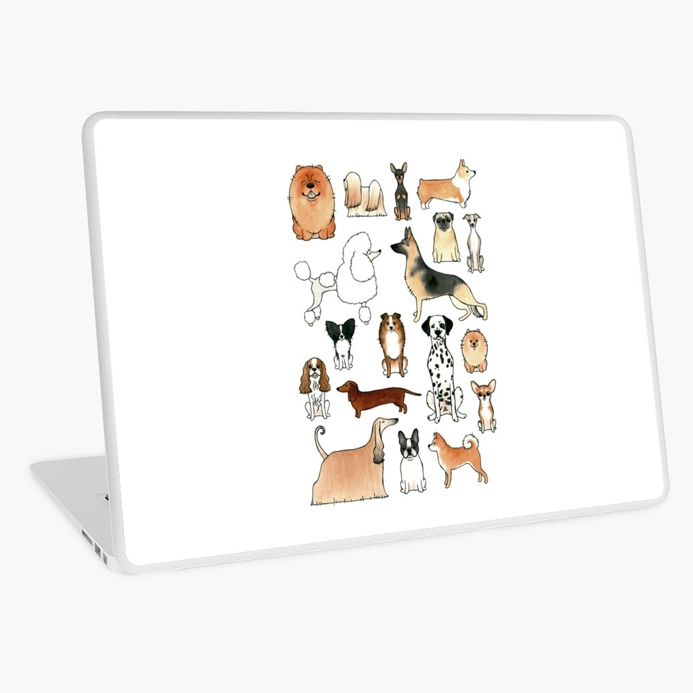 Dogs Laptop Skin