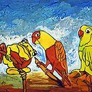 Parrots Office by Juhan Rodrik