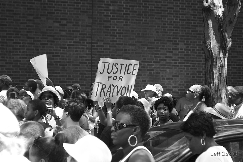 Justice for Trayvon by Jeff stroud
