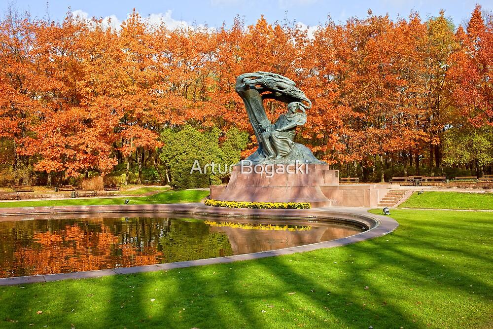 Lazienki Park in Warsaw by Artur Bogacki