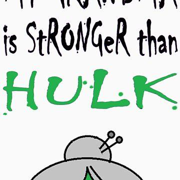 My Grandma Is Stronger Than Hulk B by StefanoSimoni
