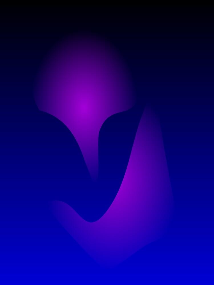 Blue Mask by masabo