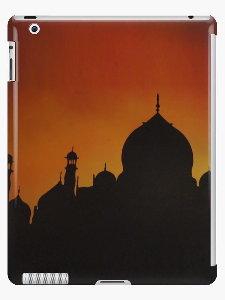Taj Mahal by thangka