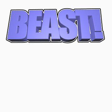 BEAST! T-Shirt by Geoman7
