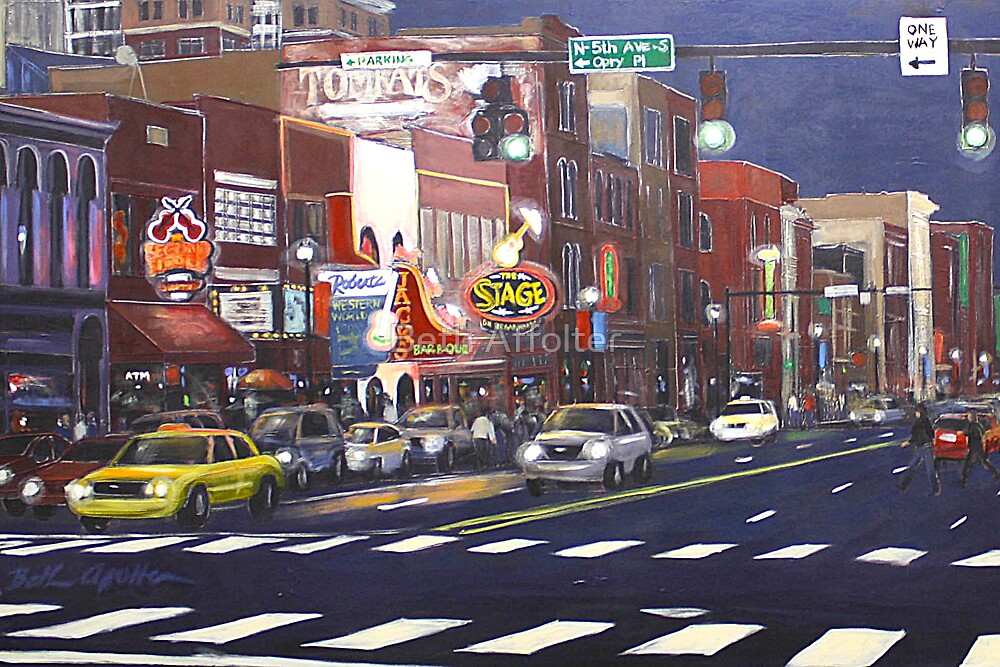 Downtown Nashville by Beth Affolter