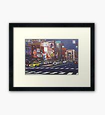 Downtown Nashville Framed Print